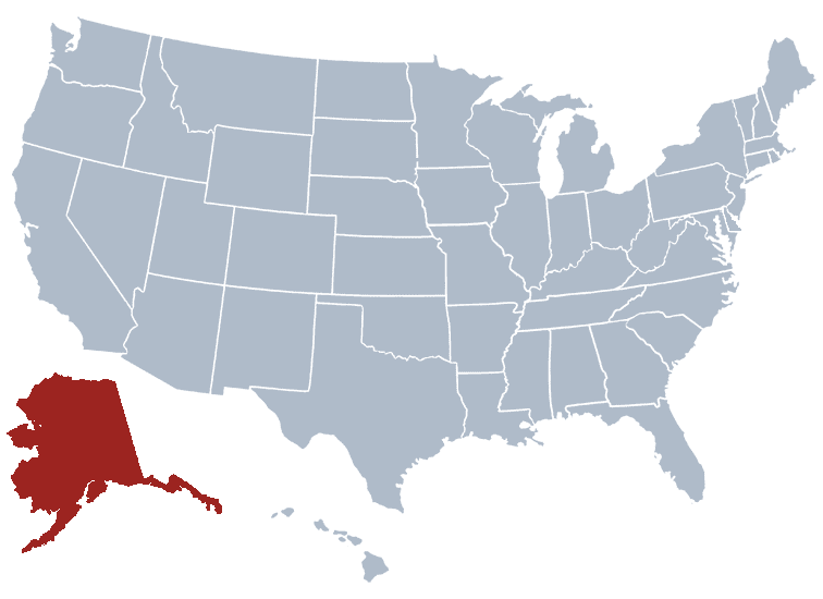 USA States Covered by Ovid Media Group-Alaska
