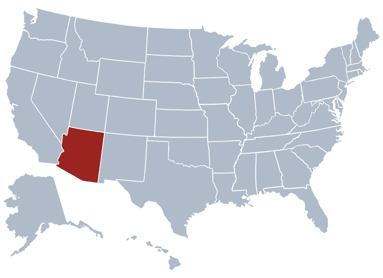 USA States Covered by Ovid Media Group-Arizona