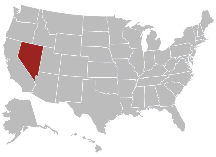 USA States Covered by Ovid Media Group-Nevada