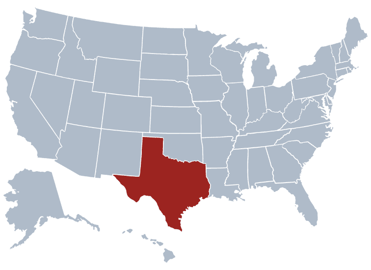 USA States Covered by Ovid Media Group-Texas