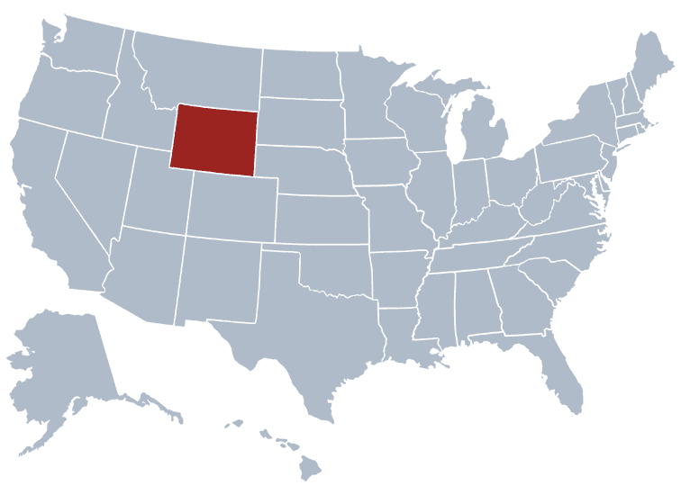 USA States Covered by Ovid Media Group- Wyoming