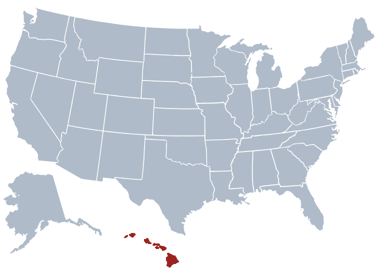 USA States Covered by Ovid Media Group-hawaii