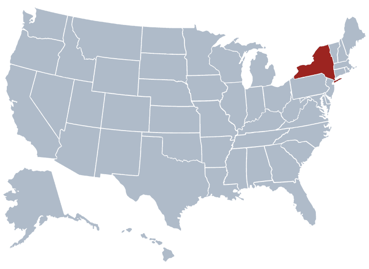 USA States Covered by Ovid Media Group-newyork