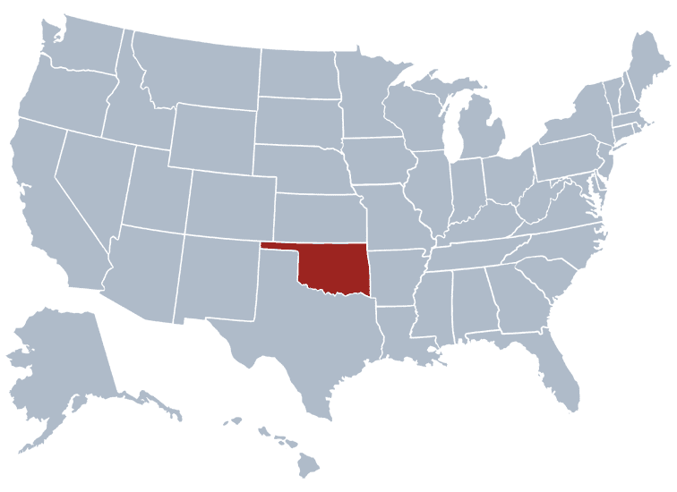 USA States Covered by Ovid Media Group-oklahoma